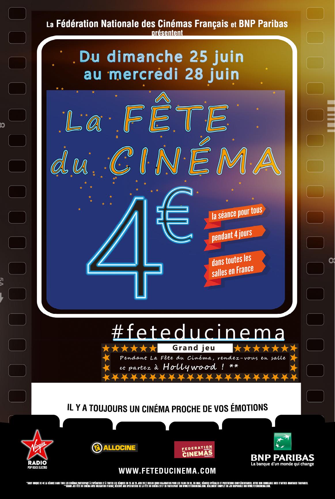 Affiche N° 2 > Participation Concours Affiche La Fête du cinéma