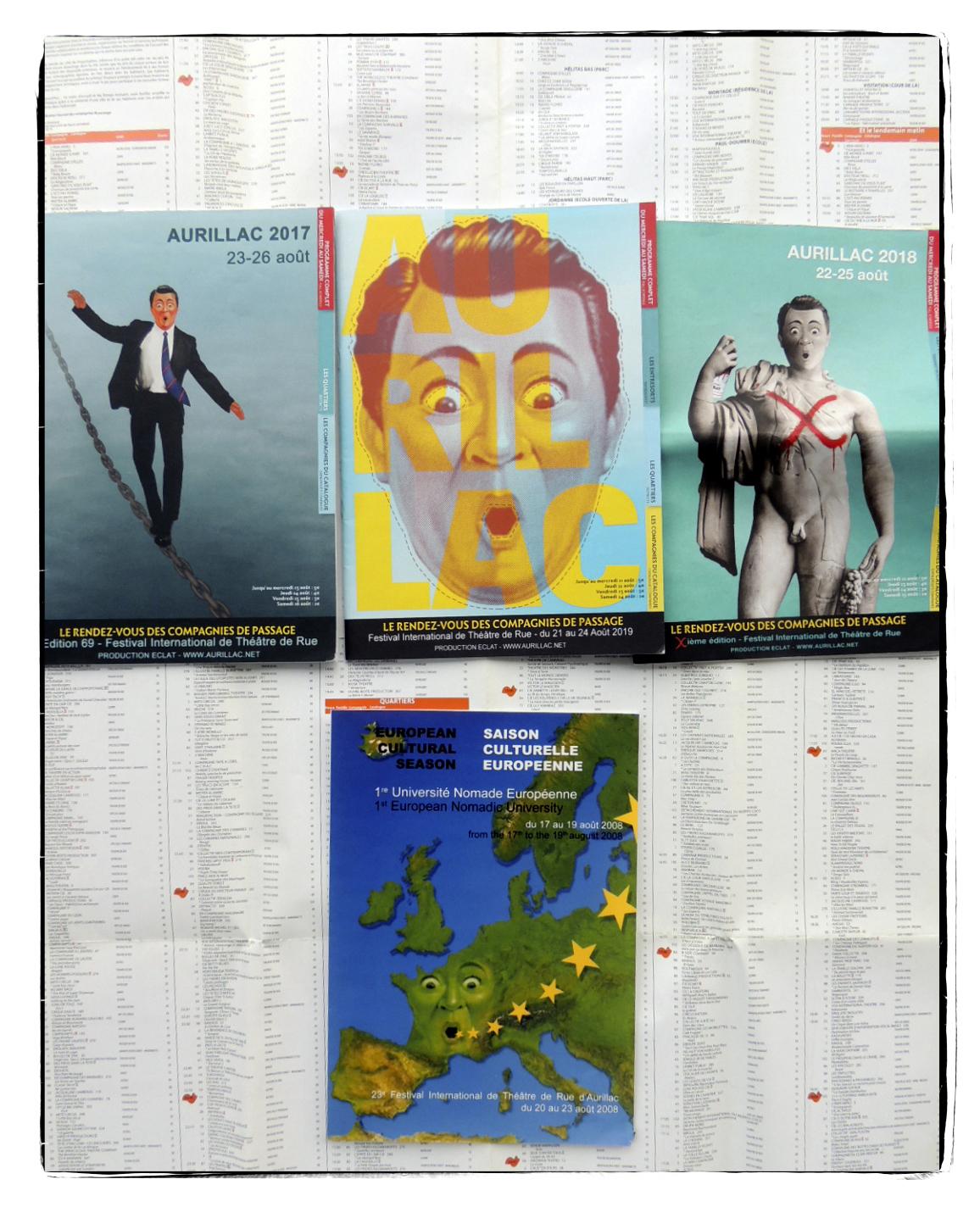 Association Eclat | Festival international de théâtre de rue | Aurillac |