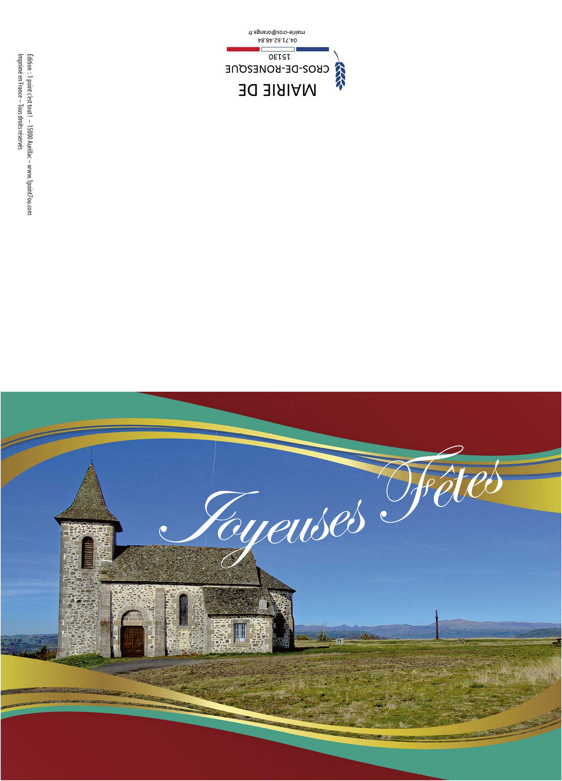 Mairie de Cros de Ronesque | Cartes de voeux
