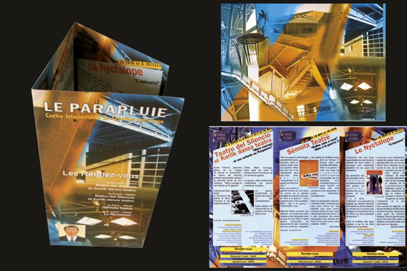 2004 | Dépliant | Le Parapluie - Centre international de création artistique - Naucelles