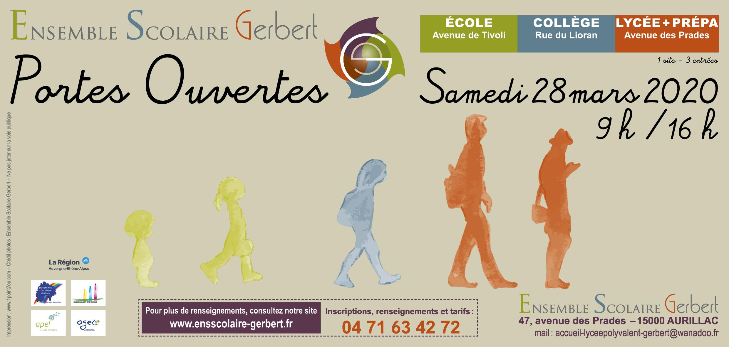 Ensemble Scolaire Gerbert - Aurillac